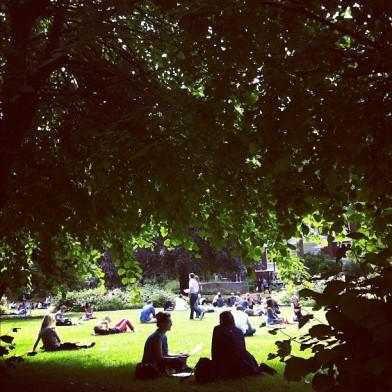 Gordon_Square_Bloomsbury_springtime_byEmmaLundin