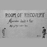 Fig. 75, 'The Room of Recovery' from Frederick Walter Mott, War Neurosis and Shell Shock (1919). Wellcome Library, London