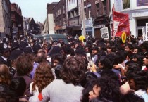 Anti National Front Demonstration Brick Lane 1978  Altab Ali was a young Bangladeshi man killed by racists in May 1978. This was a demonstration after his murder to protest against the National Front and other racists who were active in the Brick Lane area.