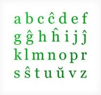 Alfabeto_de_Esperanto_-_verdaj_minuskloj (1)